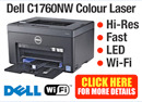 Dell C1760NWCNW Colour Laser printer