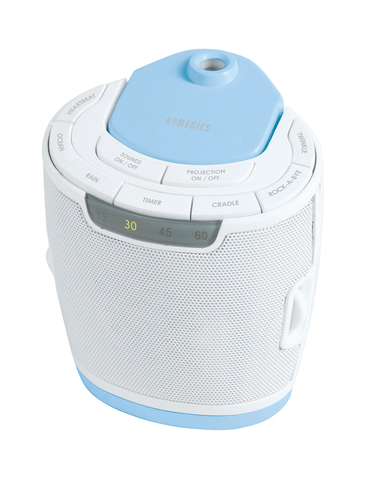 homedics baby sound machine projector