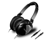 Denon AH-D510R Headphones Black & Aluminium + Mic and Remote