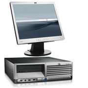 HP DC7100 SFF/Desktop PC P4 3GHz 512MB 80GB Win XP Pro + 17