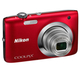 Nikon Coolpix S2600 14.4MP Digital Camera 5 x Optical Zoom 2.7