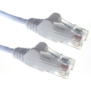 Connekt Gear 0.5m RJ45 to RJ45 UTP CAT 5e stranded network cable [WHITE]