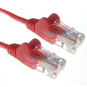 Connekt Gear 1.0m RJ45 to RJ45 UTP CAT 5e stranded network cable [RED]