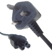 ComputerGear 2M UK Male (BS1363) to C5 Female Cloverleaf Cable