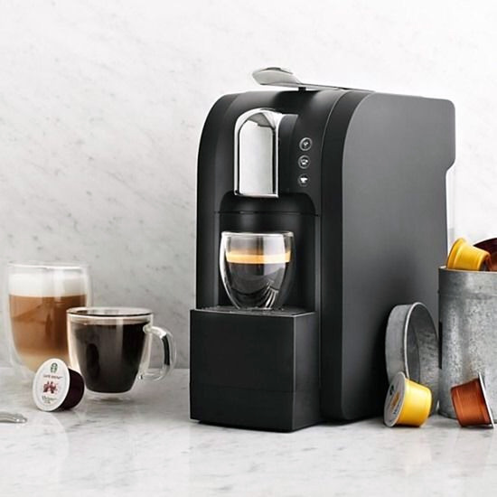 buy starbucks verismo 580 brewer coffee pod machine black at morgan computers. Black Bedroom Furniture Sets. Home Design Ideas