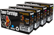 Recycled multipack b/c/m/y toner cartridge for Dell 1250 1350 1765
