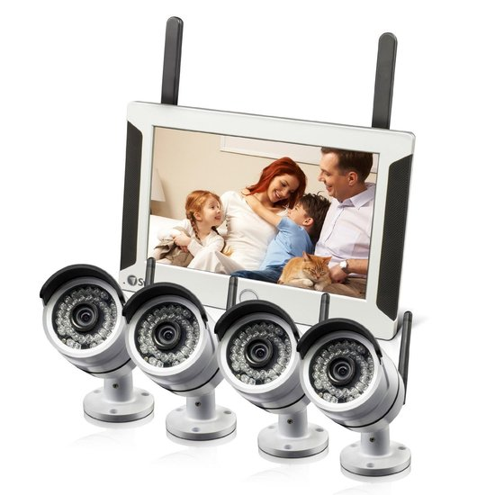 Buy Swann 4 Camera Wireless Security CCTV System at Morgan Computers