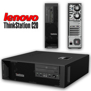 Lenovo Thinkstation C20 Tower PC DUAL Quad Core Xeon E5620 2.4GHz 12GB 2TB NVidia NVS 300 Windows 7 Professional