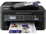 Epson WF-2630WF Printer with 4 Sets of IJT Ink & 1 Set of Epsons