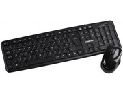 Dynamode Compoint Wireless Keyboard & Mouse Combo Black Retail with Nano Receiver
