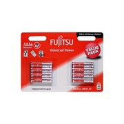 Fujitsu Universal Power AAA Value Pack Alkaline Batteries - 8 Pack