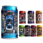 Mini Racing/RC Radio control toy car in a can