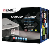 EMTEC Movie Cube Projector T800X DVB Freeview Digital Media player & recorder