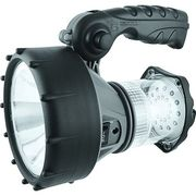 UNI-COM Rechargeable LED 1W High Power Spotlight Torch & 24 LED Lantern