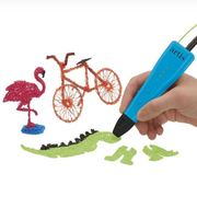 Artis 3D Pen with Multiple Speed Settings - Green, Blue, Yellow Filaments Included